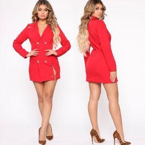 Away On Business Blazer Dress